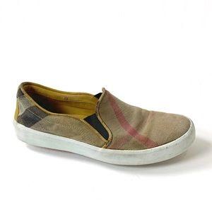 Burberry Gauden Slip On Sneakers